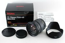 Near Mint!! Sigma 17-70mm F2.8-4.5 DC Macro for Pentax from Japan 1158