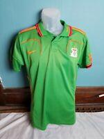 Nike Zambia National Football Soccer Team Jersey Kids Youth Large Futbol