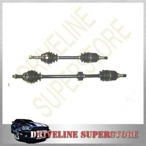 TWO CV JOINT DRIVE SHAFT BOTH SIDE TOYOTA YARIS ALL FROM 2004-2013 left & right