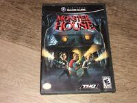 Monster House Nintendo Gamecube Complete CIB Authentic