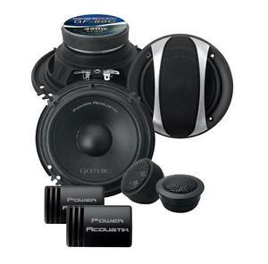 "Power Acoustik GF-60C 175 Watts 6.5"" 2-Way Car Component Speaker System 6-1/2"""