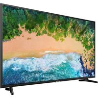 Samsung 75-inch 4K Ultra HD 6 Series NU6900 Smart TV WiFi Apps UN75NU6900FXZA