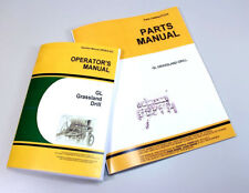 OPERATOR PARTS MANUALS FOR JOHN DEERE GL GRASSLAND DRILL OWNERS CATALOG PLANTER