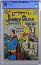 Superman's Pal JIMMY OLSEN 35 CGC 7.0 DC 1959