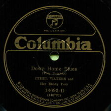 ETHEL WATERS (Down Home Blues / Go Back Where You Stay) R&B/SOUL 78  RPM  RECORD