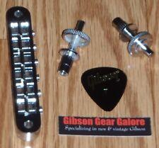 Gibson Les Paul Bridge Nashville Chrome Tune-o-matic Guitar Parts Custom Uncut A