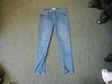"Papaya Skinny Jeans Size 16 Leg 28"" Faded Medium Blue Ladies Jeans"