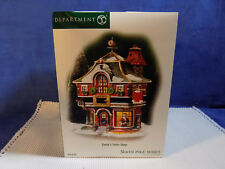 DEPARTMENT 56 NORTH POLE SERIES SANTA'S TAILOR SHOP - NEW IN BOX