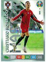 PANINI ADRENALYN XL UEFA EURO 2020 CARD N. 9 CRISTIANO RONALDO (MASTER RARE)