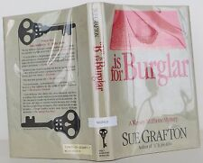 """SUE GRAFTON """"B"""" is for burglar (A Kinsey Millhone mystery) SIGNED 2nd Printing"""