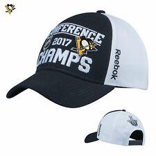Pittsburgh Penguins Reebok Hat Cap 2017 Eastern Champions Adjustable NHL Finals