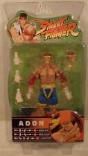 Street Fighter Series Round 3 Adon Blue & Yellow Trunks Alternate Head SOTA MISP