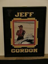 Autographed Jeff Gordon Framed Authenticated vintage photo Young's Photography