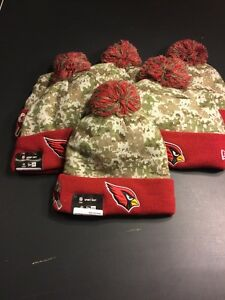 2015 Salute to Service STS BEANIE ARIZONA CARDINALS RARE HOT SellingOutFast