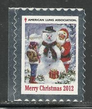 U.S. Christmas Seals - 2012 issue - mnh single seal