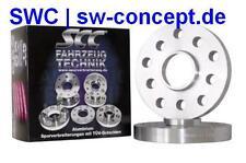 10 mm Adapterscheiben SCC BMW 5er E39 LK 5/120 NLB 74,1 auf 72,6