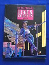 LOVE & ROCKETS. BOOK THREE - 1ST ED IN HARDCOVER BY GILBERT & JAIME HERNANDEZ