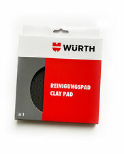 WURTH - CLAY PAD Car Paint contamination remover - Reuseable Washable