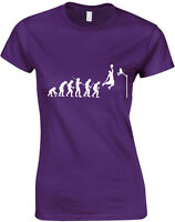 Evolution of Basketball, Sports Jordan inspired Ladies' Printed T-Shirt Women