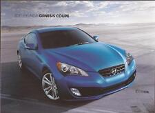 2011 11  Hyundai Genesis Coupe original  brochure MINT