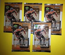 5 Lot 1999 Upper Deck Retro McDonald's Hockey Cards Unopened Wax Packs Gretzky