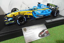 F1 RENAULT R26 FISICHELLA 1/18 HOT WHEELS MATTEL J2983 formule 1 voiture miniatu