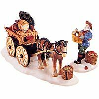 Dept 56 New England Village - Load Up The Wagon