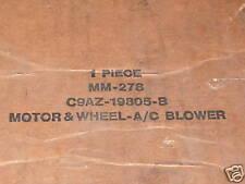 NOS 1969 1970 FORD GALAXIE LTD XL A/C BLOWER MOTOR