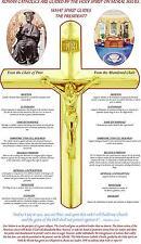 ROMAN CATHOLIC* HOLY SPIRIT * RELIGIOUS FREEDOM * CHAIR OF PETER  2-SIDED SHIRT