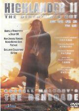 Highlander 2 The Renegade DVD Christopher Lambert NEW R0 Director's Cut