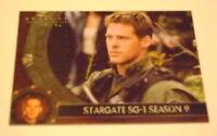 RARE MINT STARGATE SG-1 SEASON 9 P1  PROMO CARD 2006
