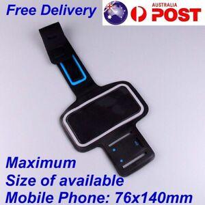 Sports Armband Mobile Phone Holder Arm Band Case Gym Running Exercise Hiking Bag