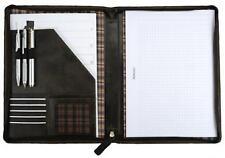 PRIDE&SOUL Schreibmappe, DIN A4, Leder, braun