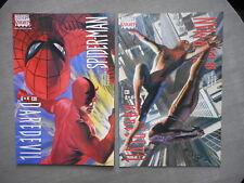 DAREDEVIL SPIDER-MAN N°1 A 4 RUN COMPLET VO NEUF NEAR MINT / MINT