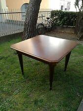 Tavolo quadrato Impero Noce PADOVA 110 x 110 x 80 ottime condizioni
