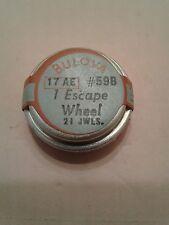 Bulova watch 17AE escape wheel  n.o.s #59B new in sealed original package