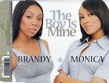 BRANDY & MONICA : THE BOY IS MINE / 4 TRACK-CD - TOP-ZUSTAND