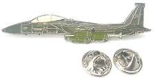 F-15E Aereo Vista Laterale Distintivo Spilla Smaltata