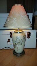 Genuine Rochamp Kutani Glass Chinese Style Lamp Base Vintage From John Lewis