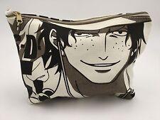 One Piece Ace D Japan Anime Pencil Canvas Bag Toiletry Bag 8''
