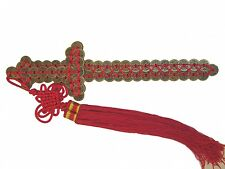 """16"""" Feng Shui High Quality Double Money Coin Sword"""