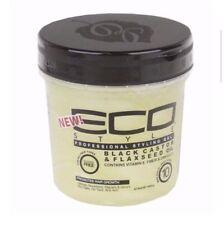 ECO Styler Black Castor & Flaxseed Oil Gel 16 Fl Oz