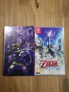 The Legend of Zelda Skyward Sword HD + Steelbook (Nintendo, 2021)