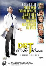 DR. T  AND THE WOMEN DVD R4 RICHARD GERE HELEN HUNT ***