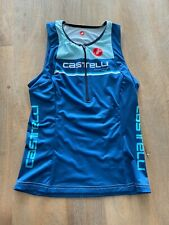 Women's Castelli Triathlon Free Tri Top Brand New Blue Size Medium