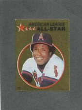 1982 O-Pee-Chee Baseball Sticker Rod Carew #131 All-Star Foil Angels *MINT*