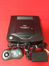 USED NeoGeo CD Console System Top Loading Model and controller Adapter set F/S