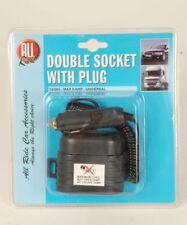 All Ride 12v Double Socket & Plug - caravan/motorhome/camper/boat