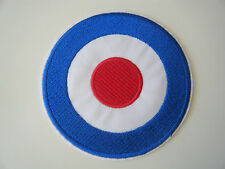 MOD PATCH Embroidered Iron On RAF Roundel Target Badge The Who Quadrophenia NEW
