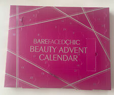 BAREFACED CHIC Christmas Nail Beauty Advent Calendar - Complete w Slight Damage